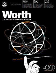 Worth magazine cover
