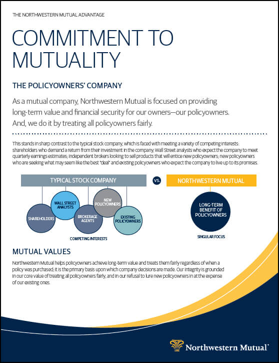 Commitment to Mutuality